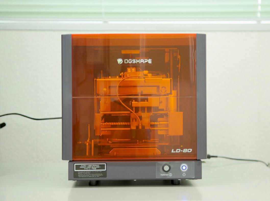 レーザー箔転写機1